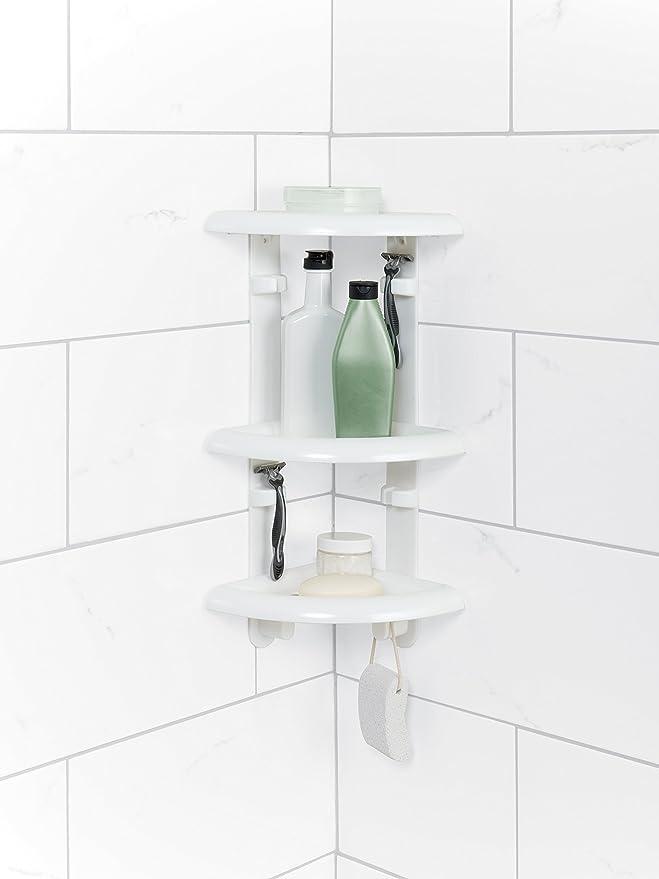Amazon.com: Zenna Home 480 W, en la esquina tina y ducha ...