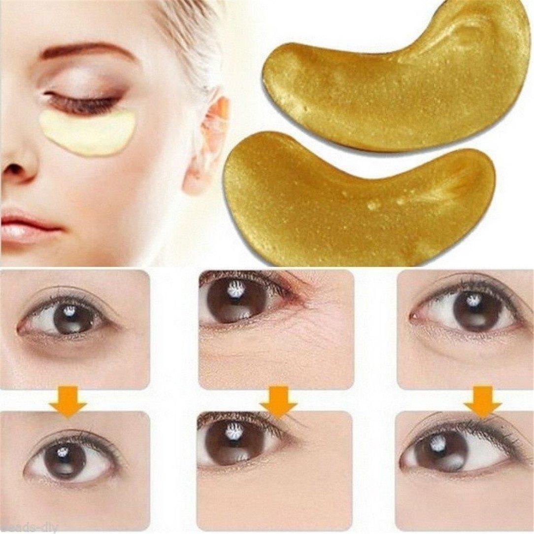 Lnlyin 10masques hydratants pour les yeux