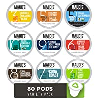 Deals on 80-Count Mauds Gourmet Coffee Pods-Single Serve Coffee