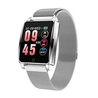 Amazon.com: Star_wuvi Heart Rate Activity Step Counter Calorie Plating Smart Bracet for Kids Women Men: Watches