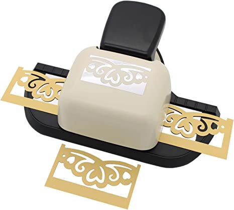 Bira Circle Pattern Continuous Border Paper Craft Punch for Scrapbooking Cards