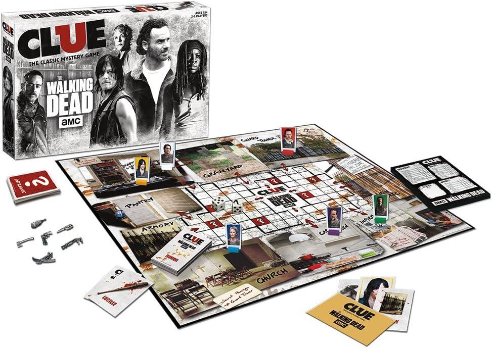 USAopoly Clue The Walking Dead Edition Juego De Mesa: Amazon.es: Juguetes y juegos