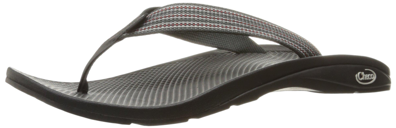 Chaco Men's Flip Ecotread Athletic Sandal, Tread Black, 10 M US by Chaco