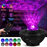 lightworld Star Projector Galaxy Night Light Projector Star Light Projector for Bedroom 10 Colors Ambiance with…
