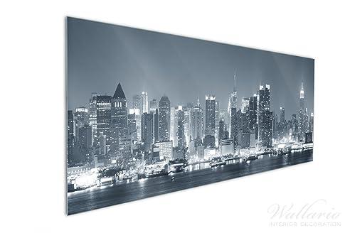 Wallario Küchen-Rückwand   Glas mit Motiv New York Skyline ...