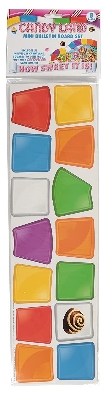 Eureka Classroom Supplies Candyland Fun Bulletin Board Sets, 56 pcs Paper Magic Group 847699