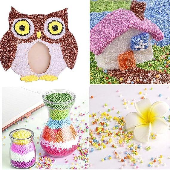Slime Supplies Kit de cuentas decorativas delgadas para manualidades, adelgazamiento casero, flor de frutas, caramelos para decoración de uñas vuelta a la ...