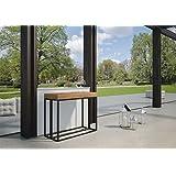 Group diseño Consola Extensible Melissa color Abeto de exterior allunghe blanco mate co98melab-bo