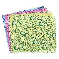 Kesheng 10pcs Chiffon De Nettoyage En Microfibre Couleur Aléatoire