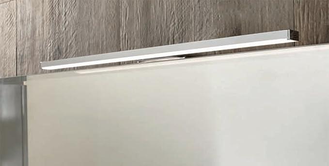 Onli applique lampada da bagno cromata victoria led 7w ip44. luce