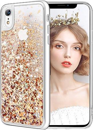 Barata Funda iPhone XR Piel Carcasa iPhone XR Silicona Online Tienda