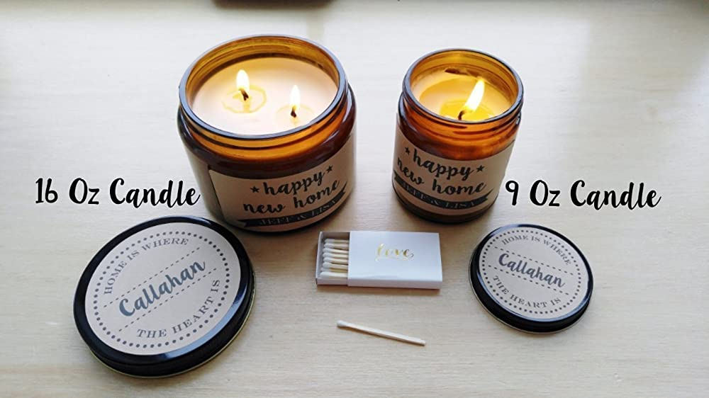 Best Mother Personalized Scented Candle Mother/'s Day Double Wick Hand-Poured Soy Candle Love you Mom!