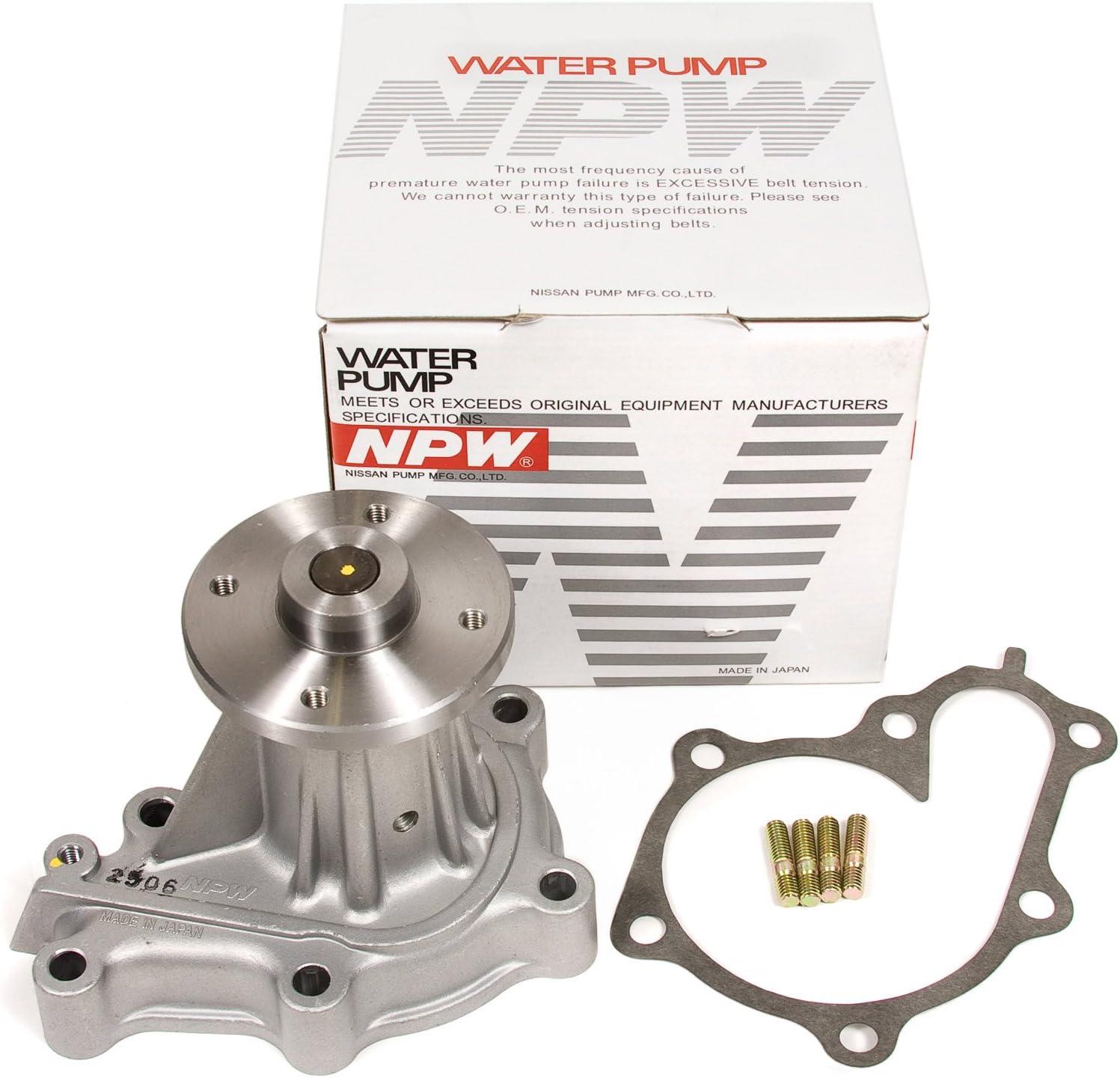 Evergreen TBK180WPN Fits 90-96 Nissan 300ZX Non /& Turbo 3.0L VG30DETT Timing Belt Kit NPW Water Pump