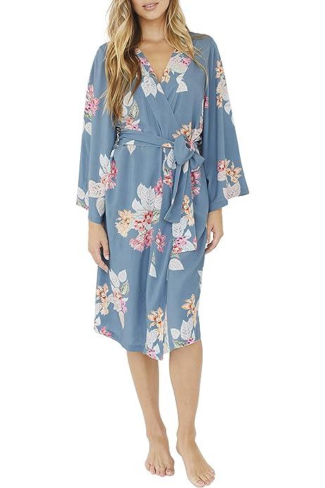 Midi Robe Boheme Bridesmaid Robe Xl Blue At Amazon Women S Clothing Store