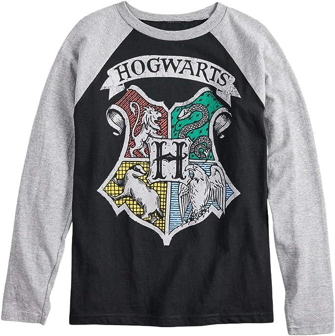 Harry Potter Hogwarts Boys Raglan T-Shirt