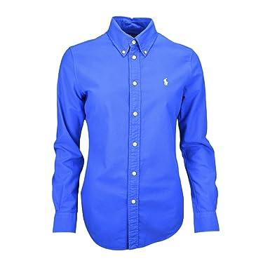 a8b75176104f0d RALPH LAUREN - Chemise Ralph Lauren Harper bleu roi pour femme - Bleu, XL