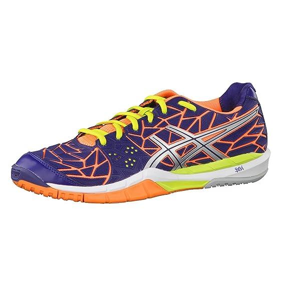 ASICS Gel FIREBLAST Chaussures de Handball Homme Multicolor