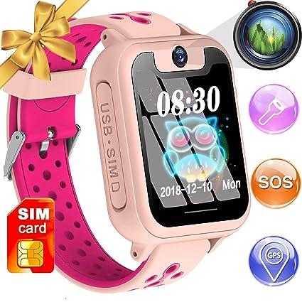 Smartwatch para niños, teléfono inteligente para niños ...