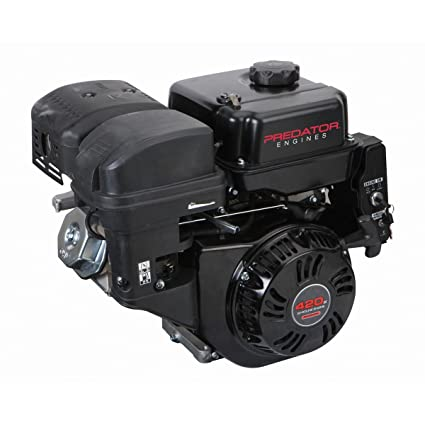 Amazon com: 13 HP (420cc) OHV Horizontal Shaft Gas Engine EPA