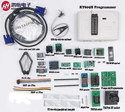 Amazon com: Davitu RT809H Programmer EMMC-Nand FLASH