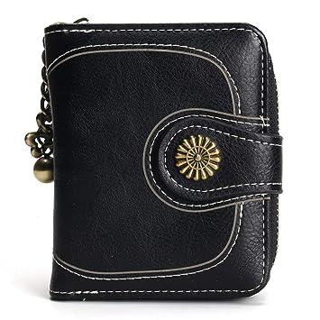 JCH-lug Wallet Colgante De Bronce Moda para Mujer Mini ...