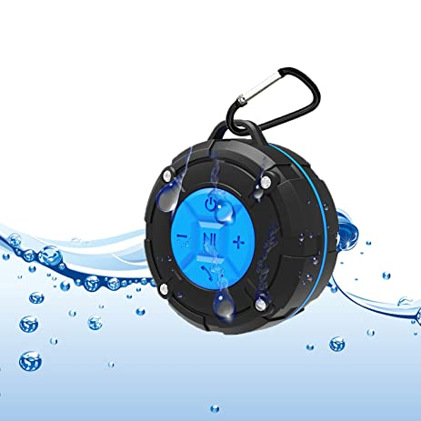 chunbluetooth shower speaker ipx7 waterproof bathroom speakers - Bathroom Speakers