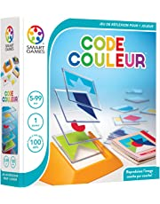 Smart Games Color Code Multi-Level Logic Game (French Language Version)