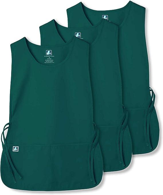 Adar Uniformi Unisex Grembiule da Lavoro Con Tasche per Lavori in settori Bellezza /& Medicina