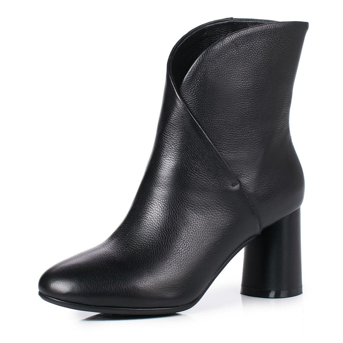 ANNIEschuhe Leder Stiefeletten Stiefeletten Stiefeletten Damen mit Blockabsatz Ankle Stiefel Herbst ea996c