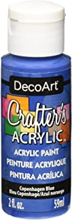 product image for DecoArt Crafter's Acrylic Paint, 2-Ounce, Copenhagen Blue