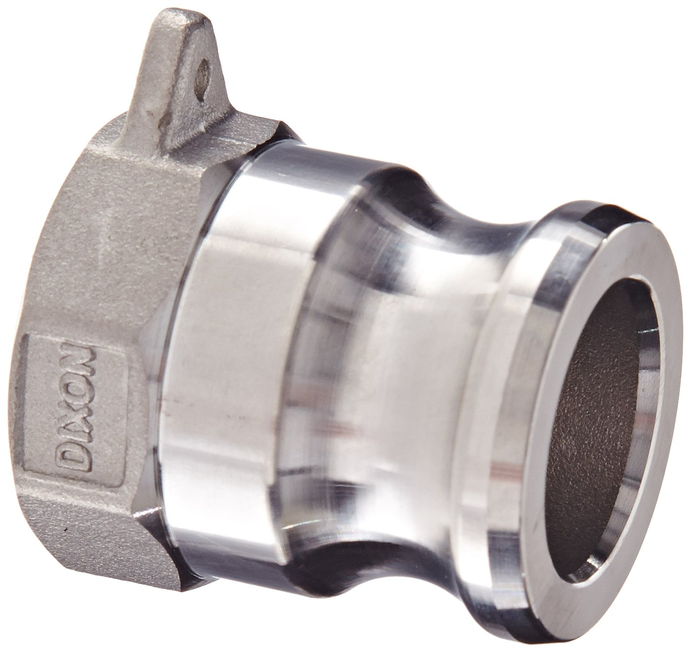 3//4 Plug x 3//4 NPT Male Dixon Valve /& Coupling G75-F-SS Investment Cast Stainless Steel 316 Global Type F Cam and Groove Hose Fitting