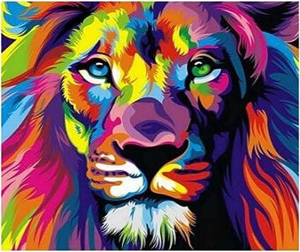 Gato 5D bordado hágalo usted mismo Diamante pintura de animales Cross Stitch Casa de Arte para Decoración de pared