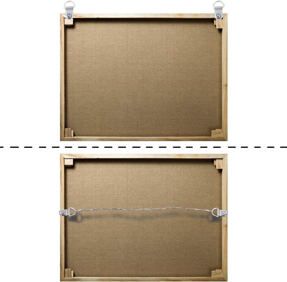 Bilderhaken aus Draht zum Aufh/ängen von Bildern 30 m