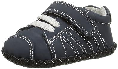 Pediped Jake, Baby Jungen Lauflernschuhe Sneaker, Blau (Navy), 6-12 Monate