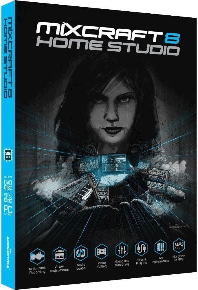 Acoustica Mixcraft Home Studio 8