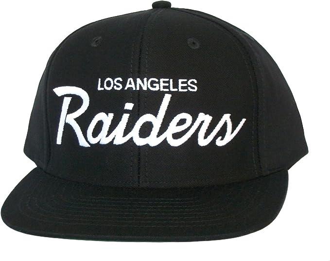 Gorra, diseño de Los Angeles LA Raiders-Snapback-Gorra oficial NFL ...