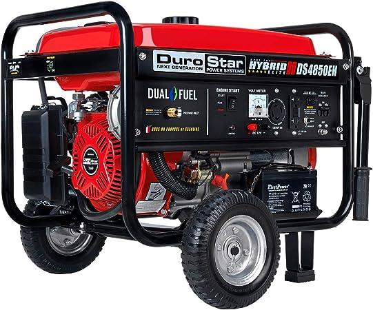 Amazon.com: DuroStar DS4850EH - Generador híbrido de ...