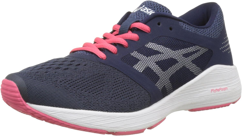 Asics T7D7N5093, Zapatillas de Running para Mujer, Azul (Insignia Blue/Silver/Rouge Red), 39.5 EU: Amazon.es: Zapatos y complementos