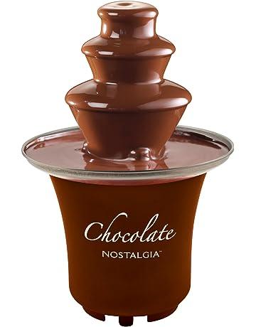 c9b1deac61 Nostalgia CFF300 3-Tier 1 2-Pound Chocolate Fondue Fountain