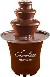 Nostalgia CFF300 3-Tier 1/2-Pound Chocolate Fondue Fountain