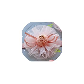 Kids Girls Baby Headband Bow Flower Hair Band Newborn Headwear Elastic Gift