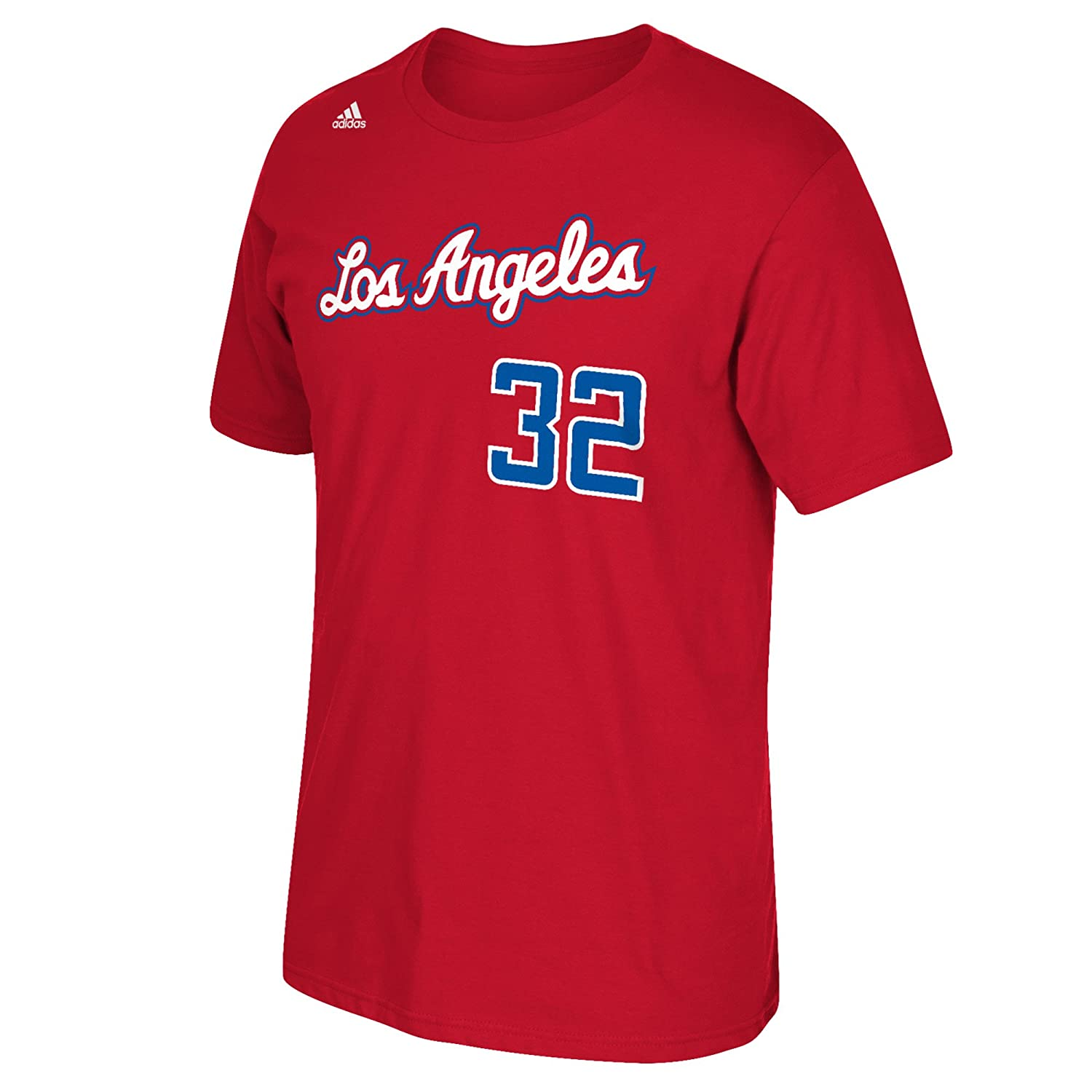 576aa8f2c0a NBA adidas Blake Griffin Los Angeles Clippers  32 Net Number T-shirt - Red