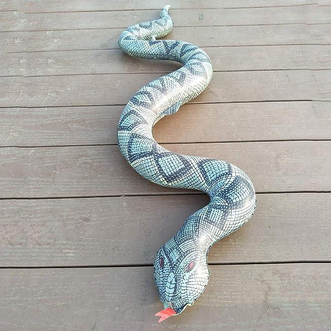 firlar - Serpiente Hinchable para jardín, Granja, césped ...