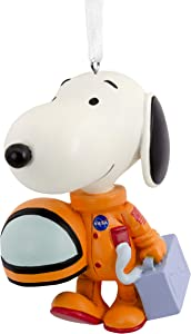 Hallmark Christmas Ornaments, Peanuts NASA Astronaut Snoopy Ornament