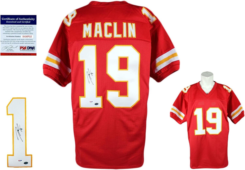 Jeremy Maclin Signed Custom Jersey - PSA/DNA - Autographed - Pro ...