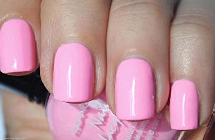 Amazon.com: New Kleancolor Pastel Pink Nail Polish Lacquer Full Sz ...