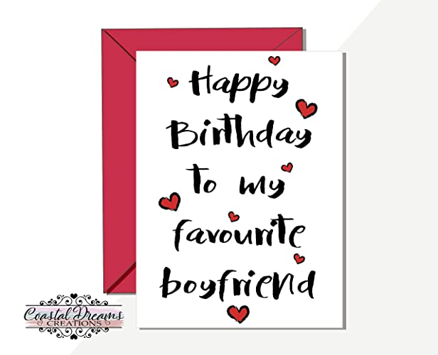 Image Unavailable Not Available For Colour Funny Boyfriend Birthday Card