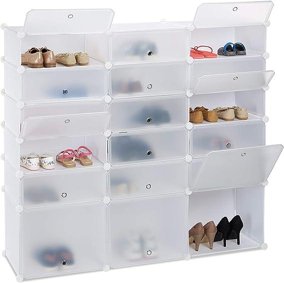 Schuhschränke für viele Schuhe Kunststoff