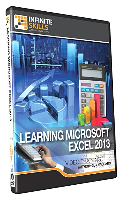 Amazon.com: Learning Microsoft Excel 2013 - Training DVD