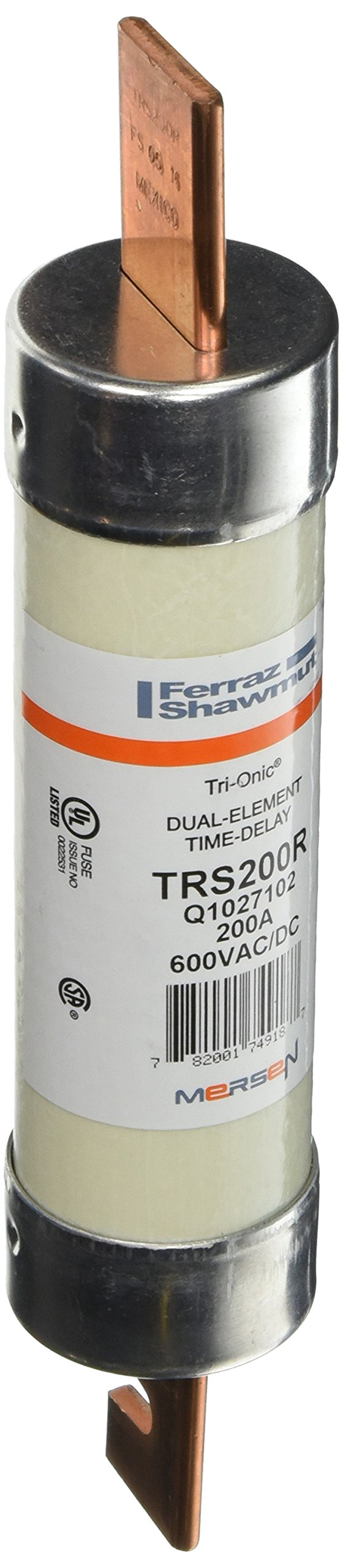 Mersen TRS200R 600V 200A 9 5/8X1 13/16 Time Delay by Mersen